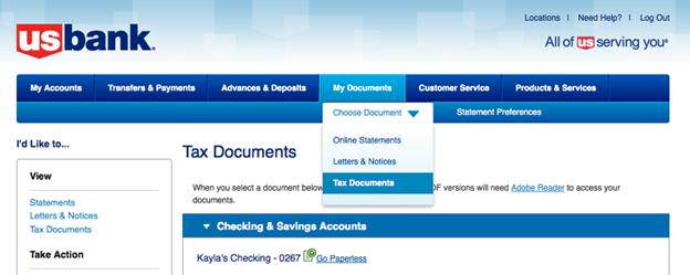 Tax Document FAQs